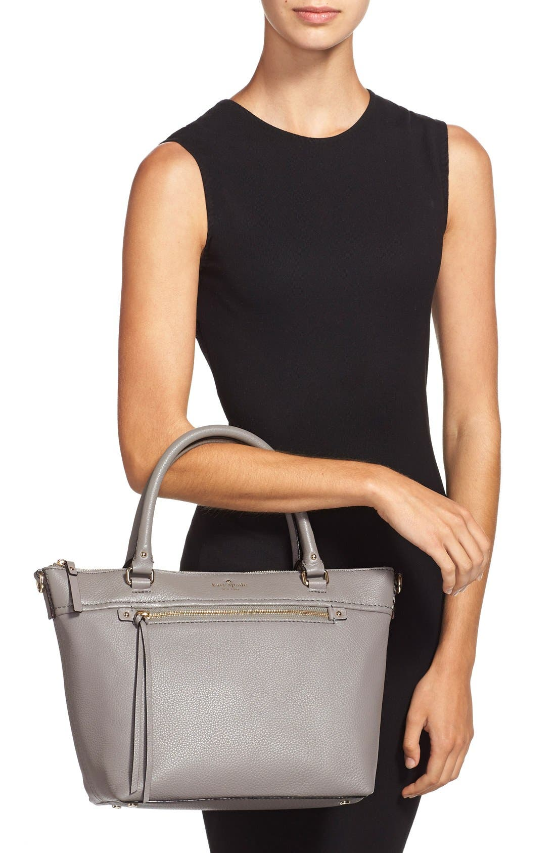 Alternate Image 2  - kate spade new york 'cobble hill - small gina' leather tote
