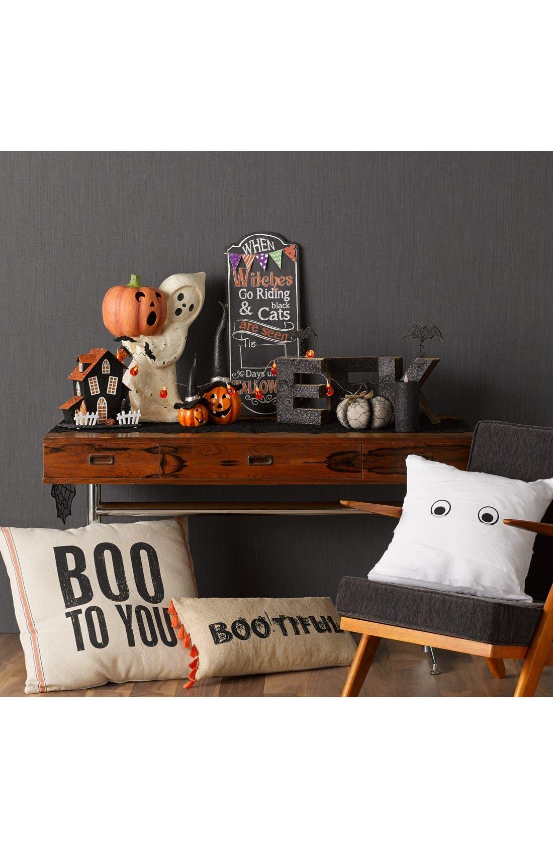 Alternate Image 2  - Fantastic Craft 'Jack-o'-Pumpkin' Light Up Pumpkin Decoration