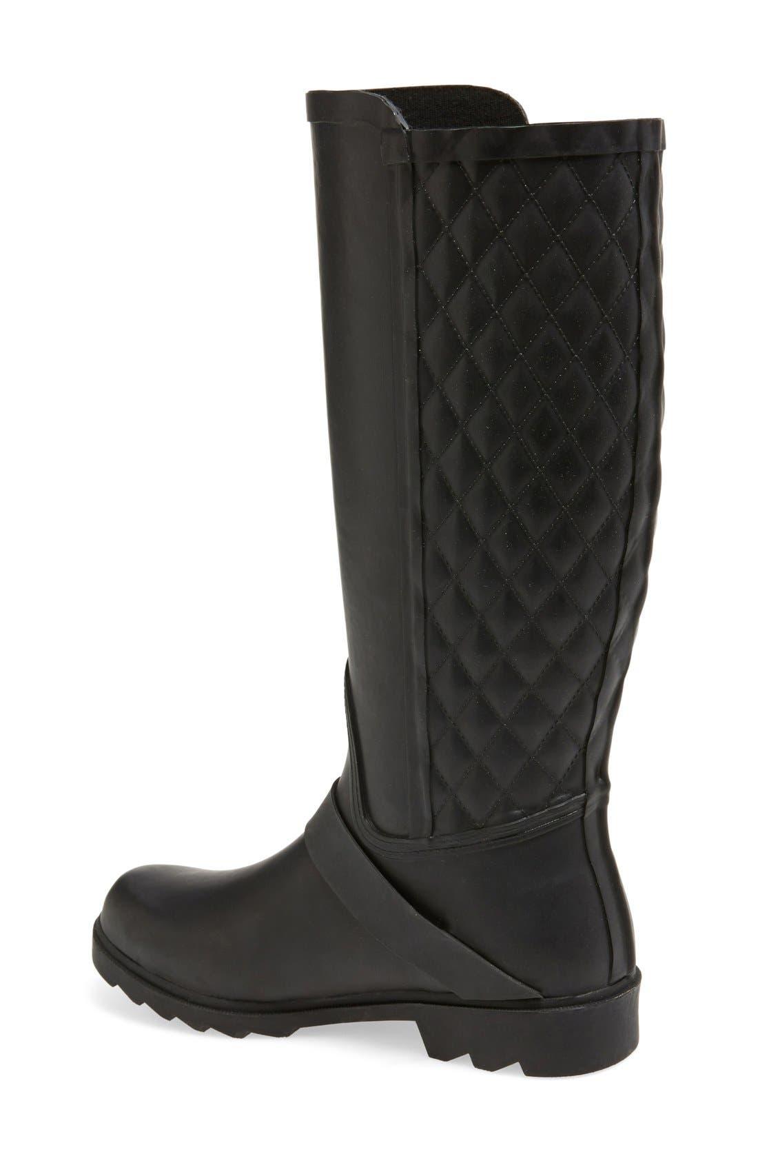 Alternate Image 2  - Steven Madden 'Northpol' TallRain Boot(Women)