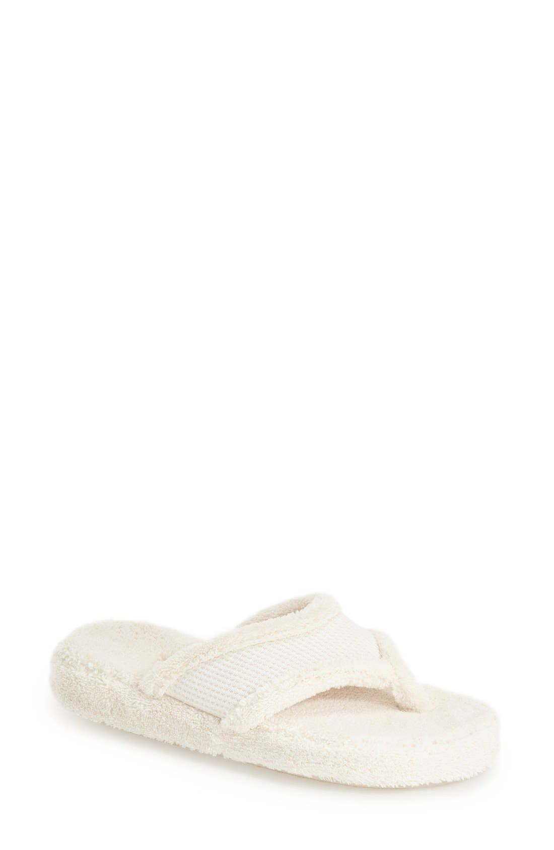 ACORN 'Waffle' Spa Slipper in Natural