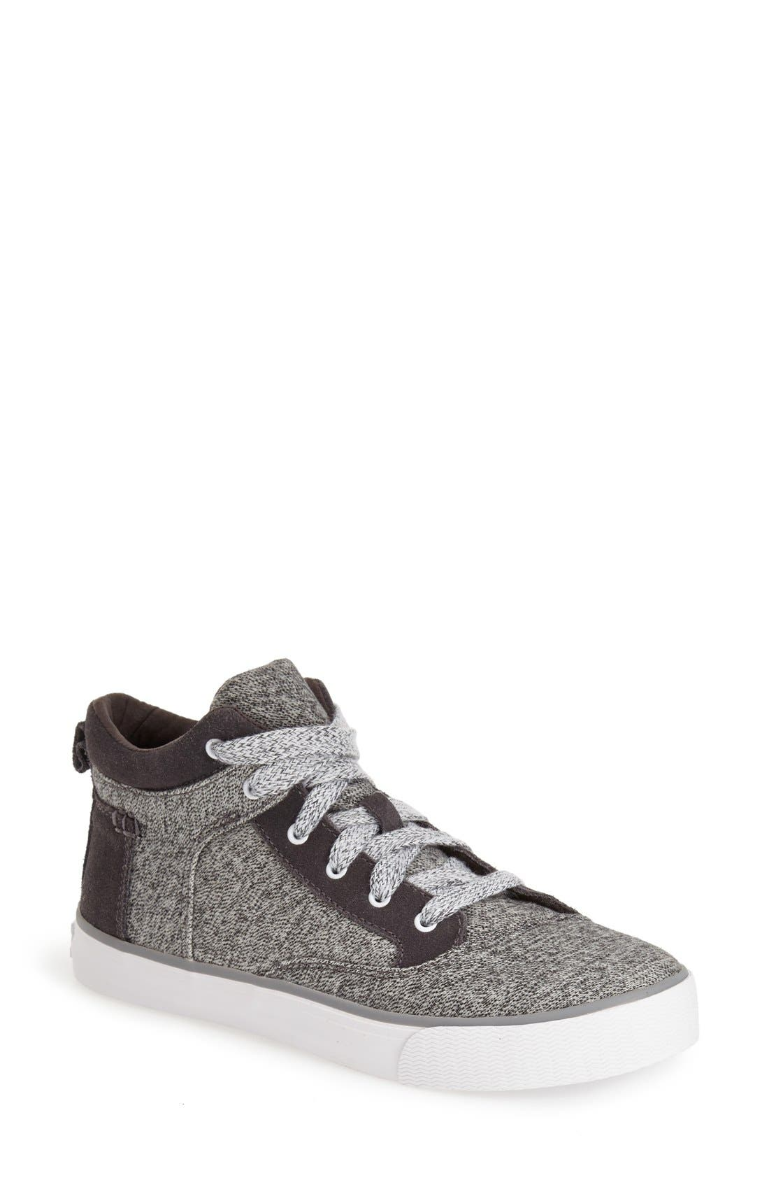 Alternate Image 1 Selected - TOMS 'Camila' High Top Sneaker (Women)
