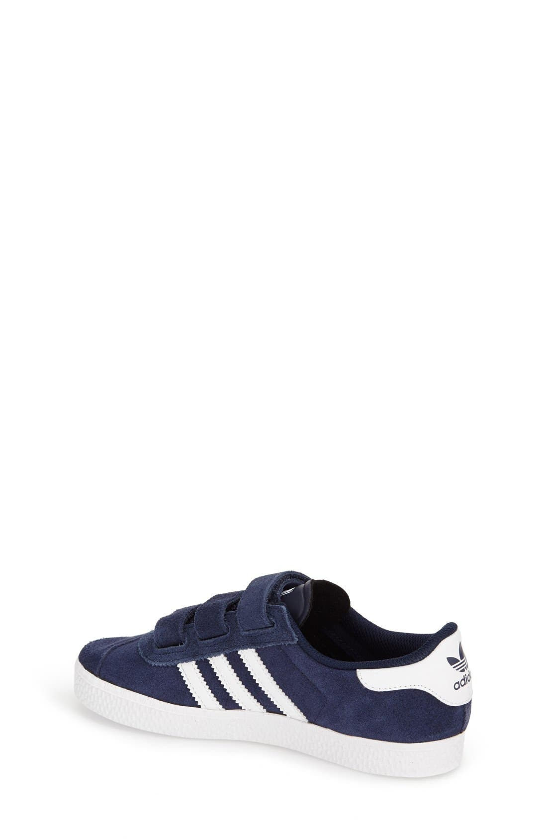 Alternate Image 2  - adidas 'Gazelle' Sneaker (Toddler & Little Kid)