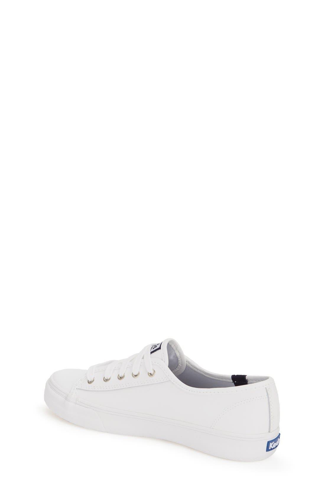 'Double Up' Sneaker,                             Alternate thumbnail 2, color,                             White