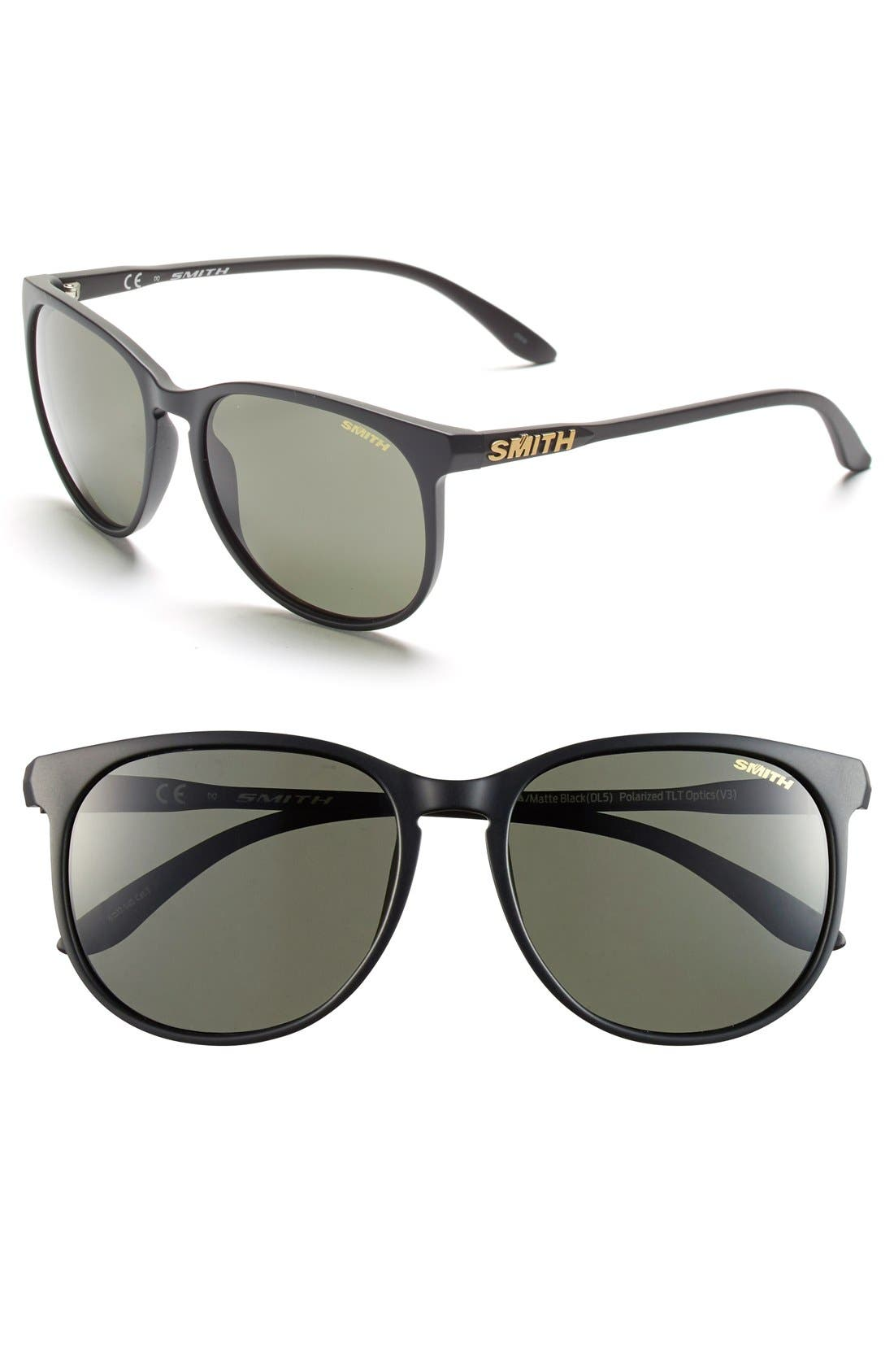 Smith 'Mt Shasta' 55mm Cat Eye Sunglasses
