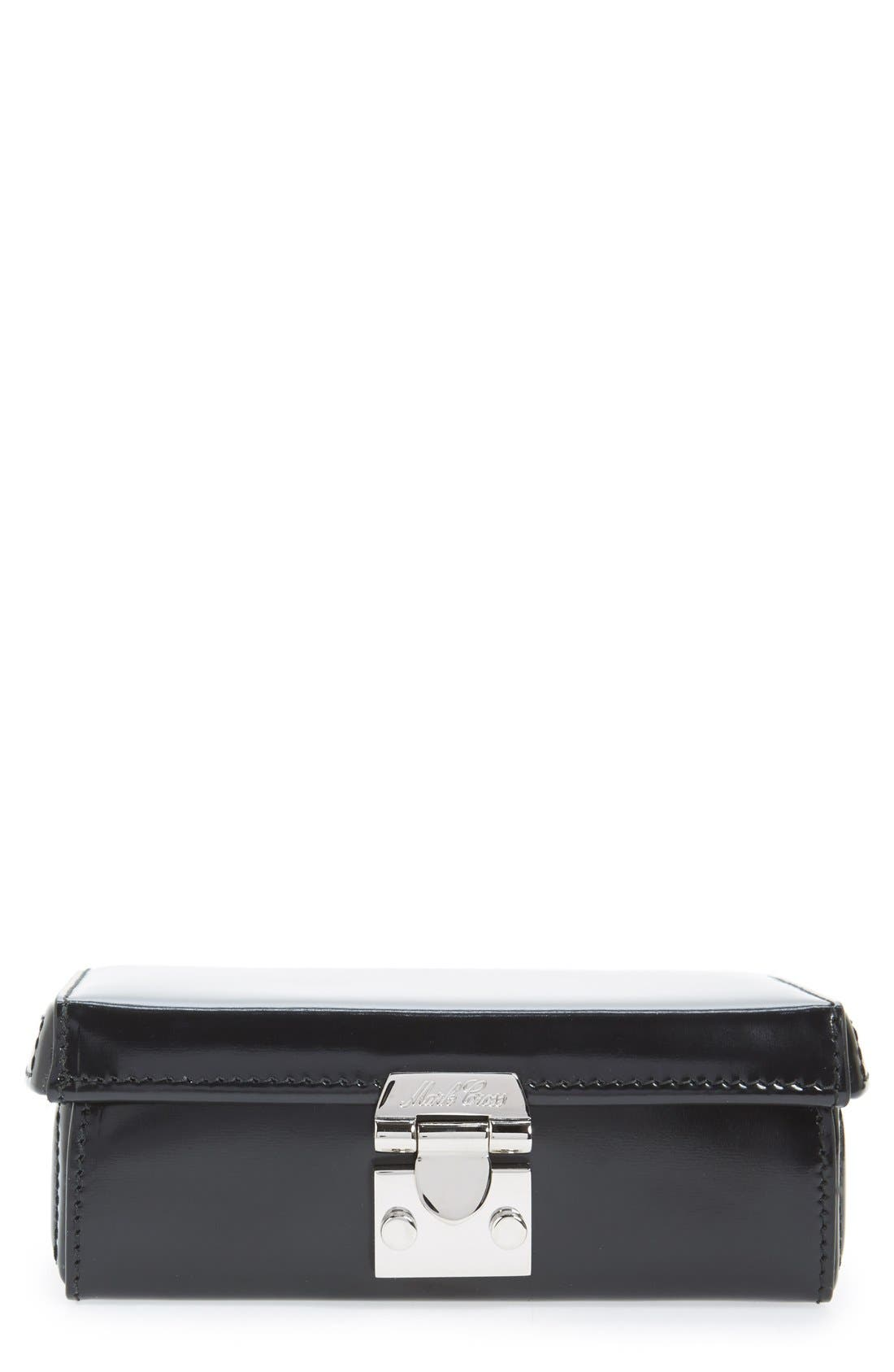 Alternate Image 1 Selected - Mark Cross 'Grace' Spazzolato Leather Clutch