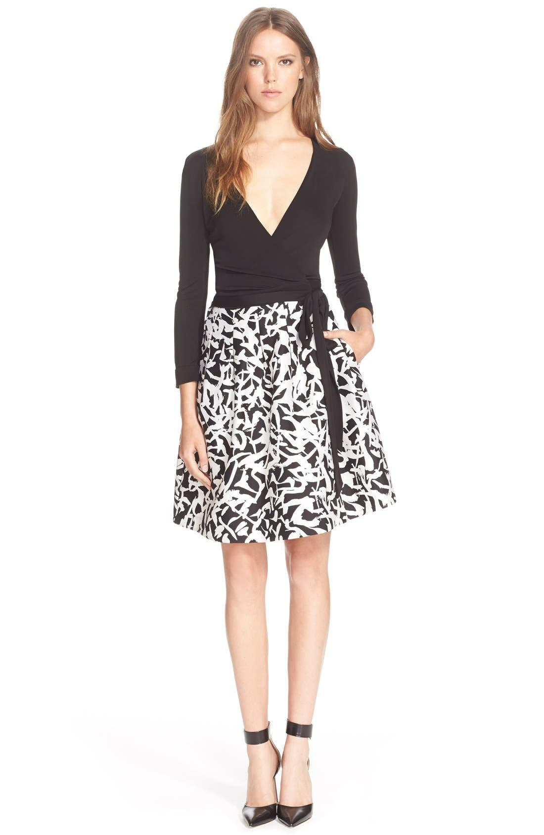 Alternate Image 1 Selected - Diane vonFurstenberg'Jewel' Wrap Dress