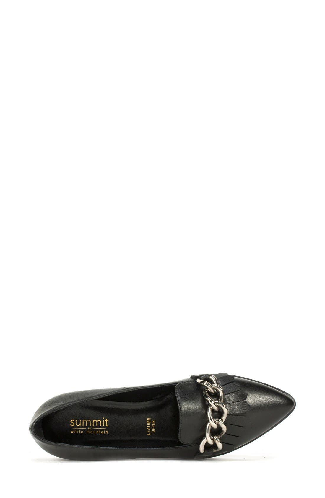 Alternate Image 3  - Summit 'Elena' Fringed Platform Loafer (Women)