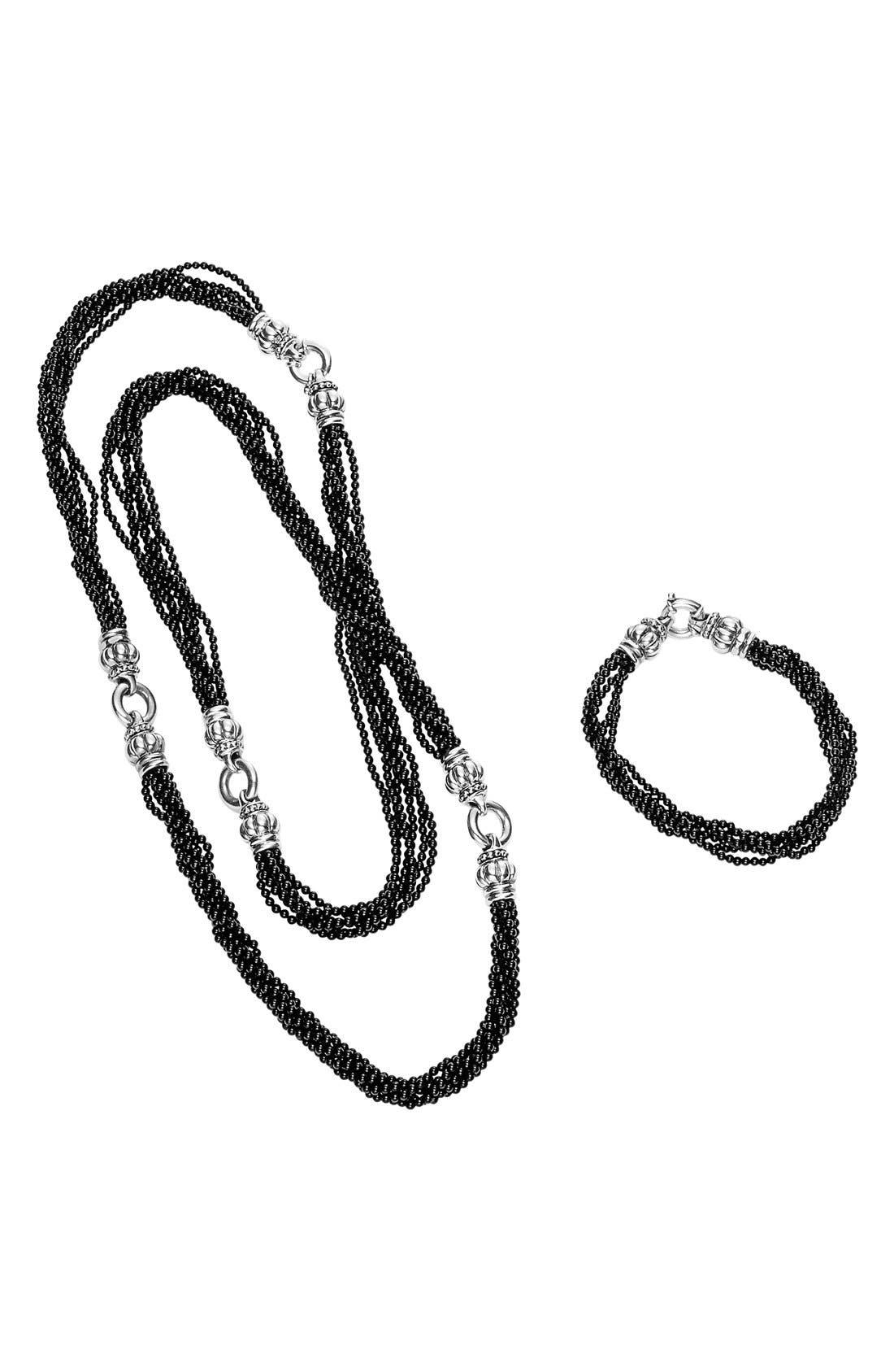 Alternate Image 3  - LAGOS 'Black Caviar' Beaded Necklace