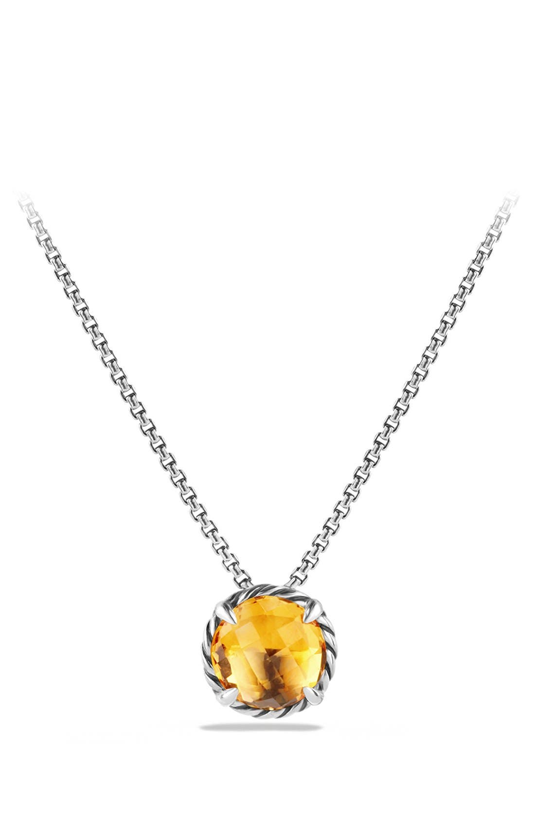 David Yurman 'Châtelaine' Pendant Necklace