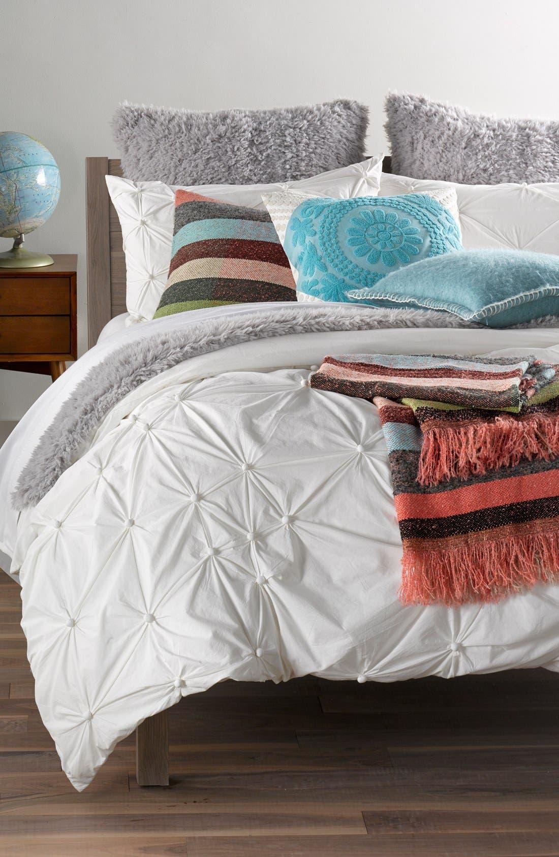 'Shaggy Plush' Faux Fur Blanket,                             Alternate thumbnail 2, color,                             Grey Vapor