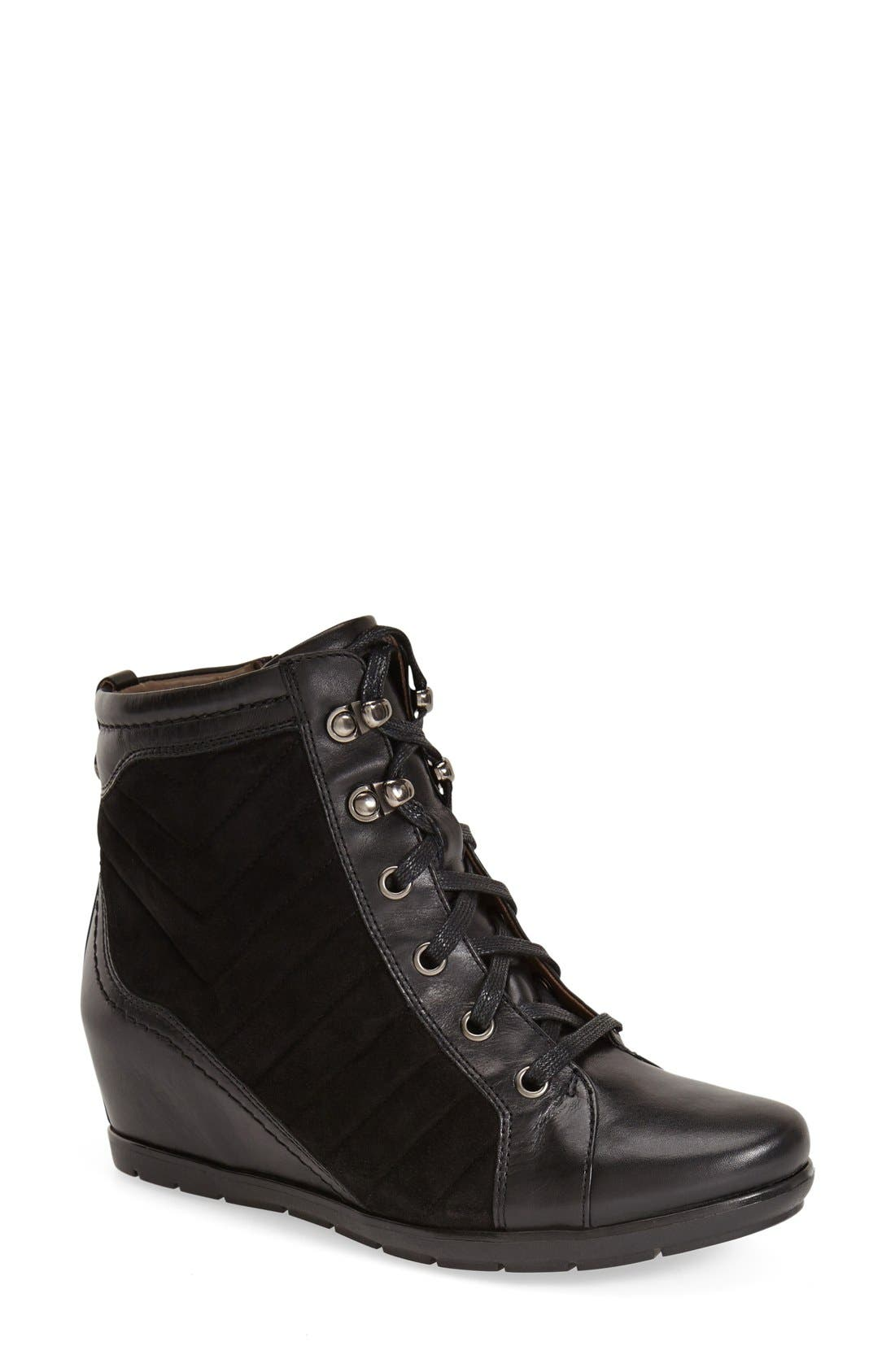 Alternate Image 1 Selected - Earthies® 'Limburg' Wedge Bootie (Women)