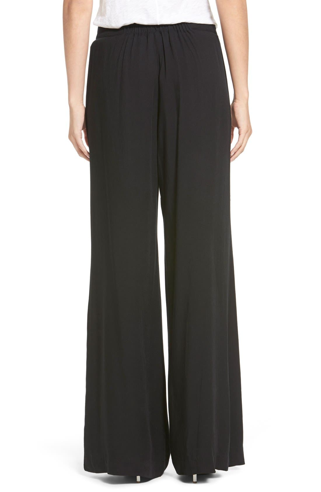 Alternate Image 2  - Socialite Wide Leg Trousers