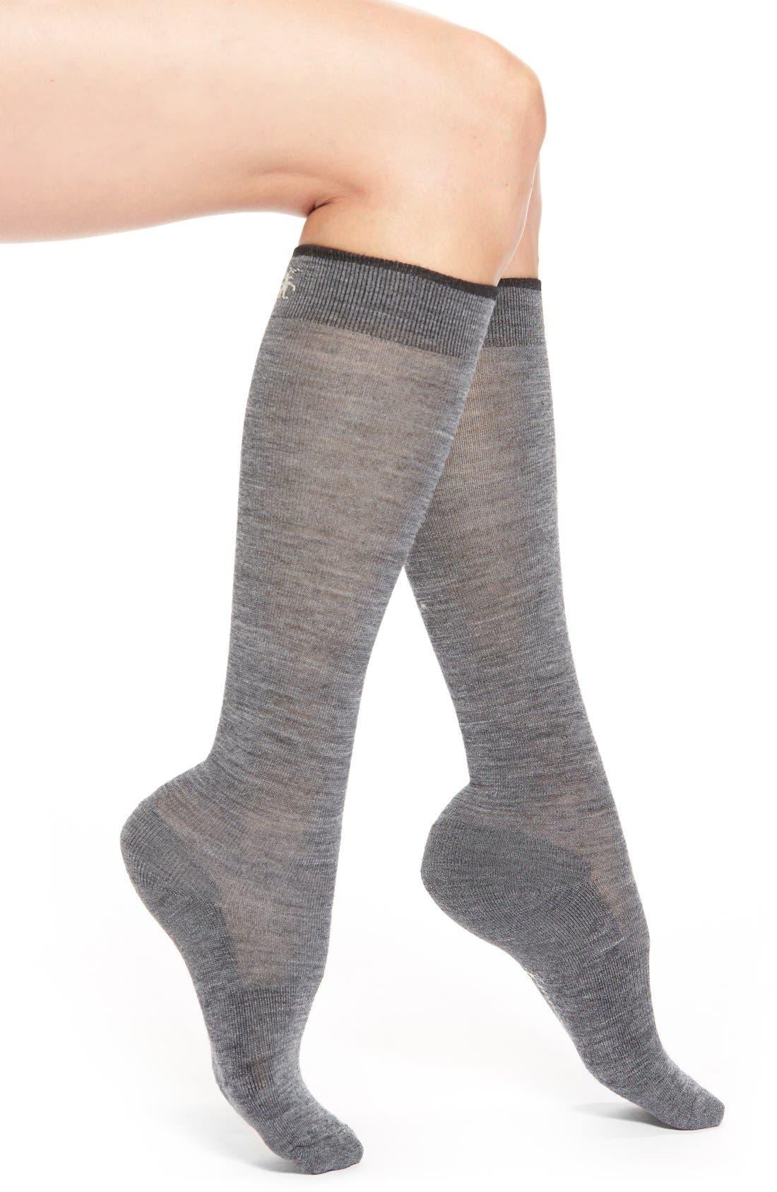 Alternate Image 1 Selected - SmartwoolMerino Wool Blend Knee High Socks