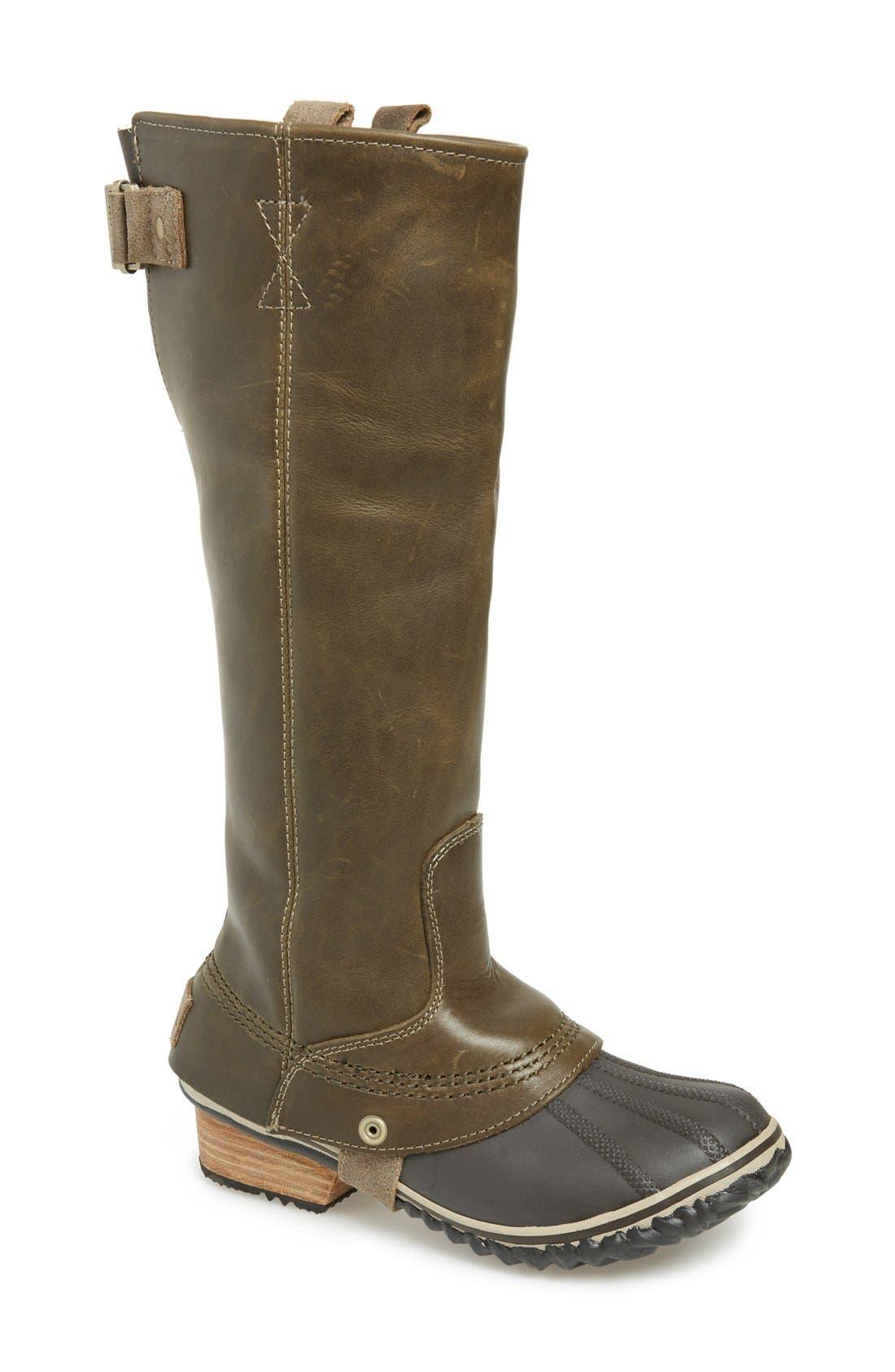 Alternate Image 1 Selected - SOREL 'Slimpack' Riding Boot