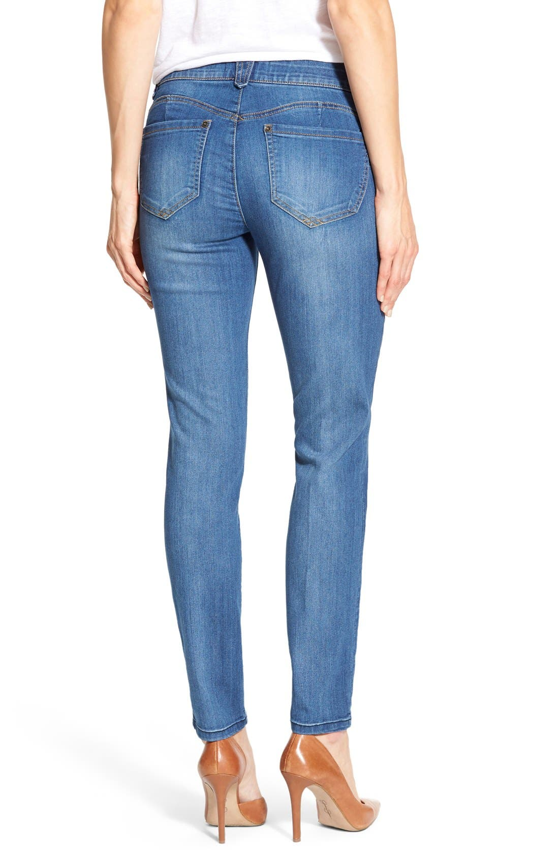 Alternate Image 2  - Wit & Wisdom 'Ab-solution' Booty Lift Stretch Skinny Jeans (Nordstrom Exclusive)