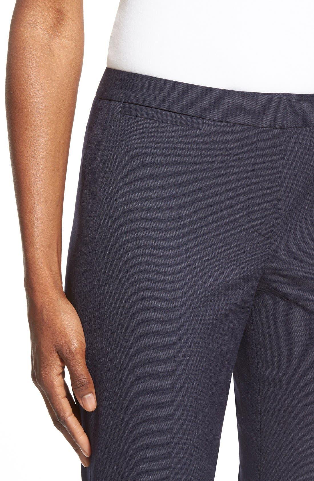 Alternate Image 4  - Halogen® 'Taylor' Stretch SuitPants (Regular & Petite)