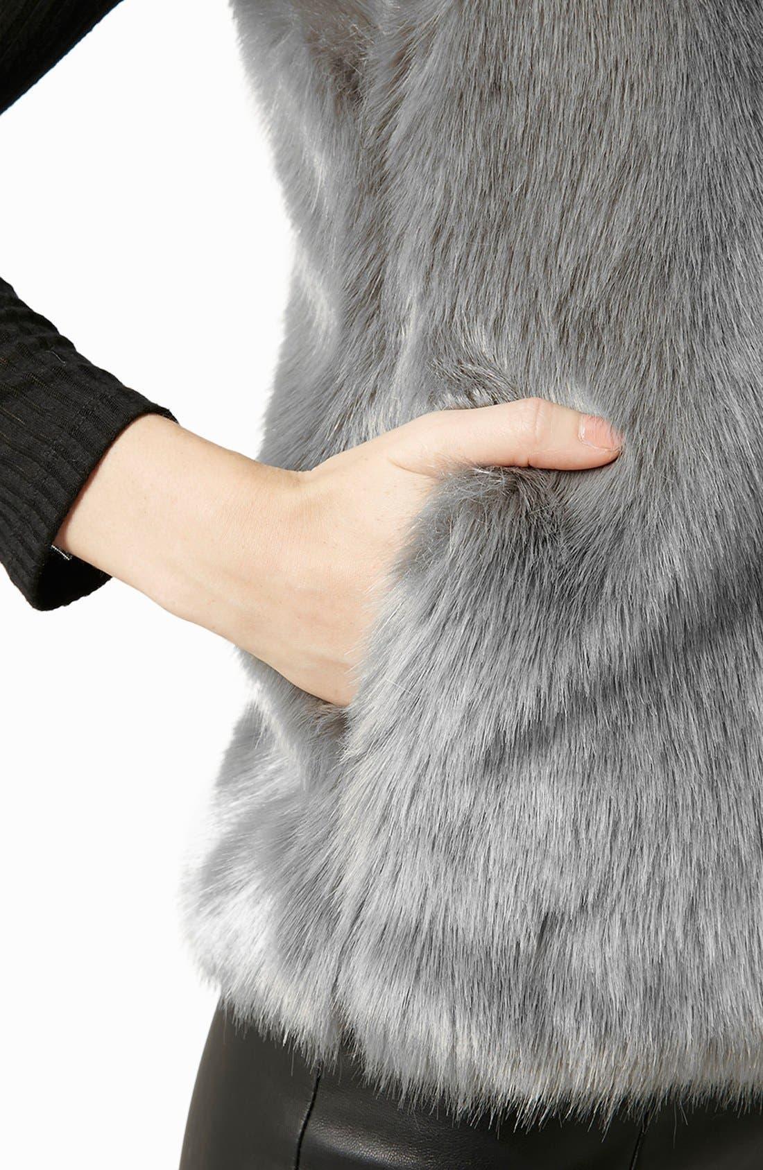 Alternate Image 4  - Topshop Faux Fur Gilet Vest