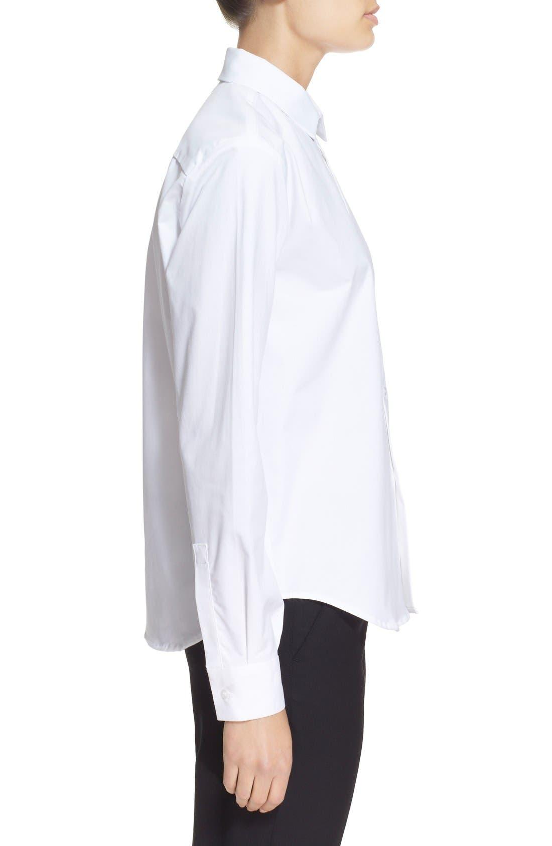 Alternate Image 4  - JacquemusContrast Hand Stretch CottonShirt