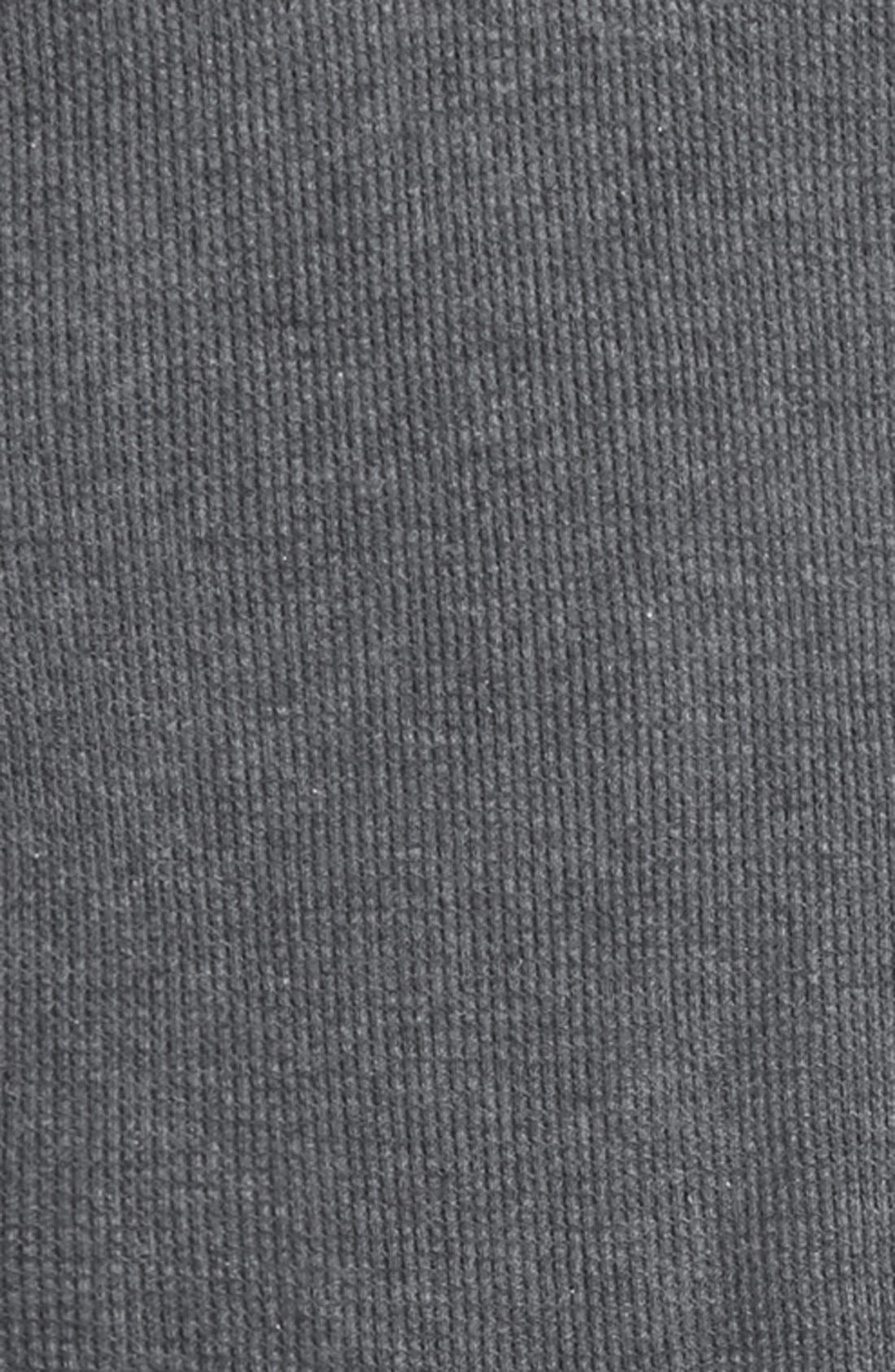 Long Sleeve Thermal T-Shirt,                             Alternate thumbnail 4, color,                             Grey Charcoal Heather