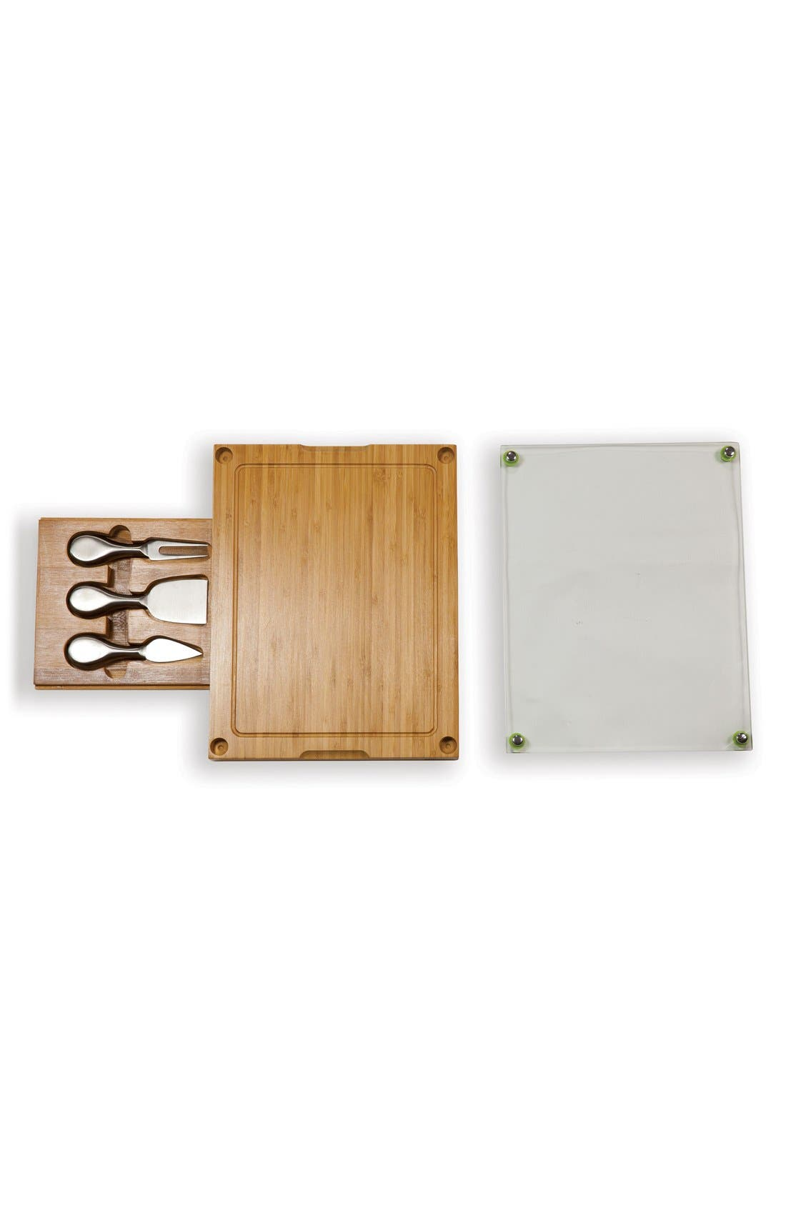 'Concerto' Cutting Board Set,                             Alternate thumbnail 3, color,                             Brown