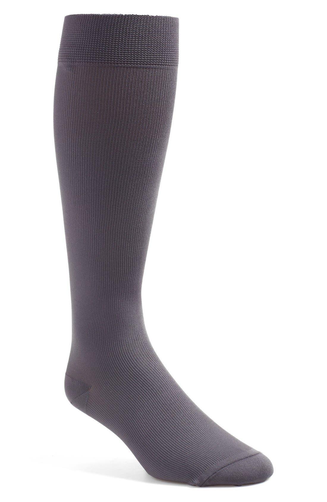 'Keynote' OvertheCalf Socks,                         Main,                         color, Grey