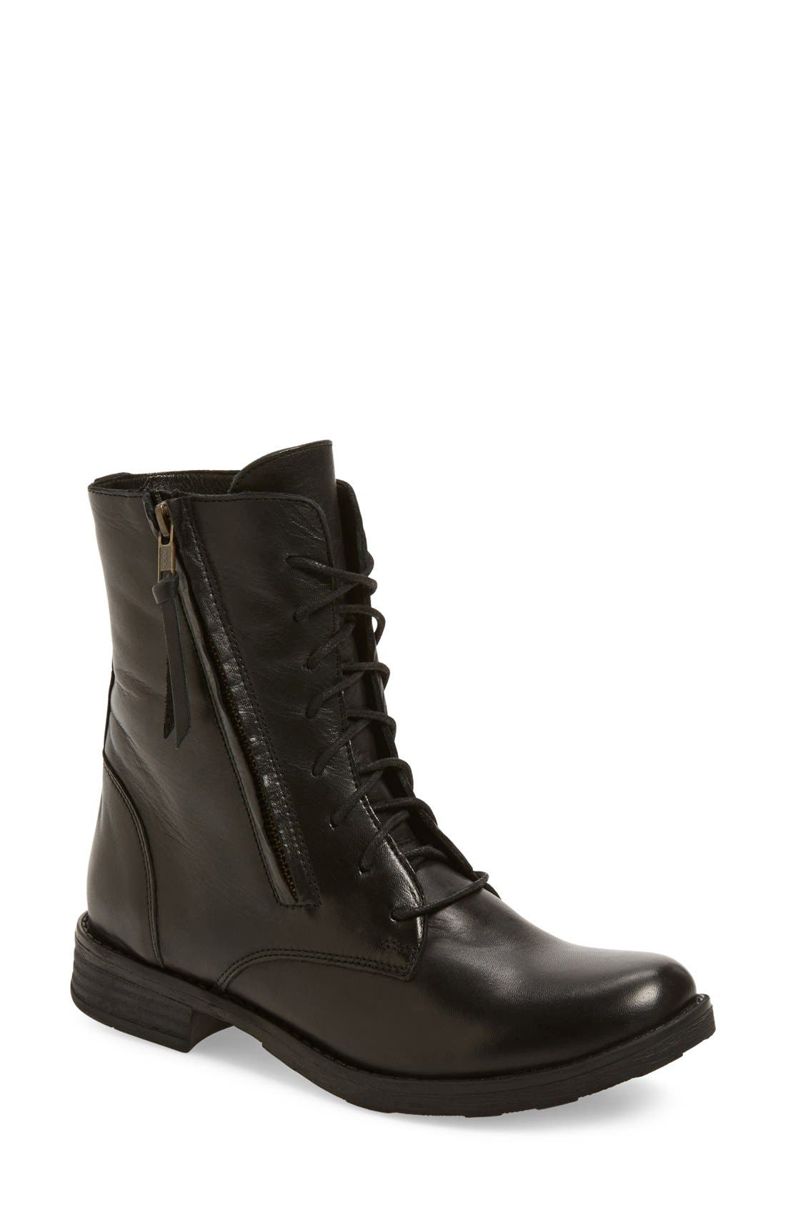 Alternate Image 1 Selected - Miz Mooz 'Tuned' Lace-Up Boot (Women)