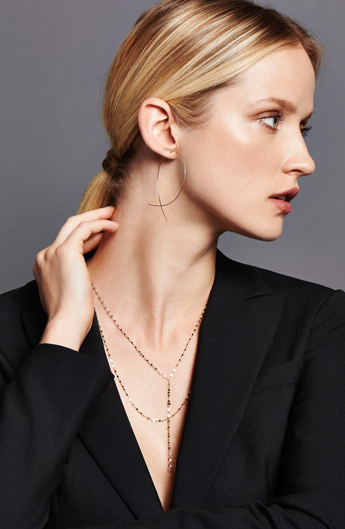 Alternate Image 3  - Lana Jewelry 'Large Upside Down' Hoop Earrings