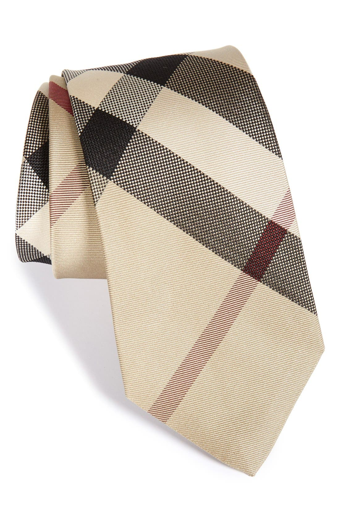 Alternate Image 1 Selected - Burberry 'Manston' Woven Silk Tie