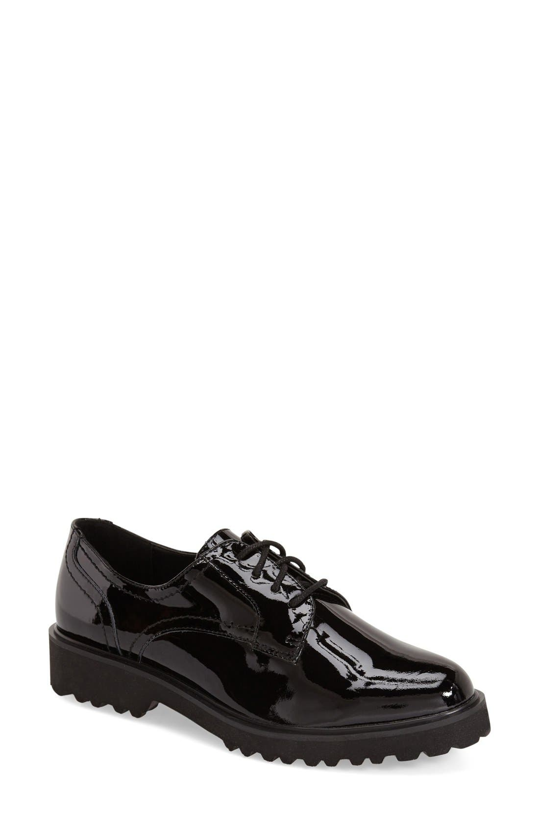 Main Image - Dune London 'Filipo' Lug Sole Water Resistant Oxford (Women)