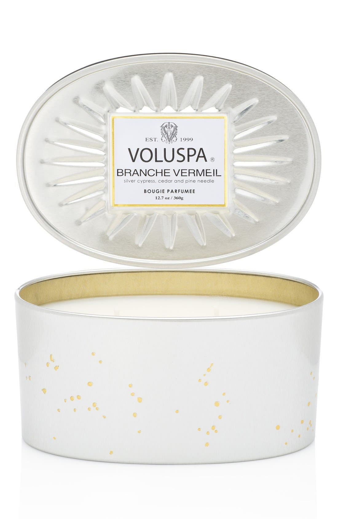 Main Image - Voluspa 'Vermeil - Branche Vermeil' Two-Wick Candle
