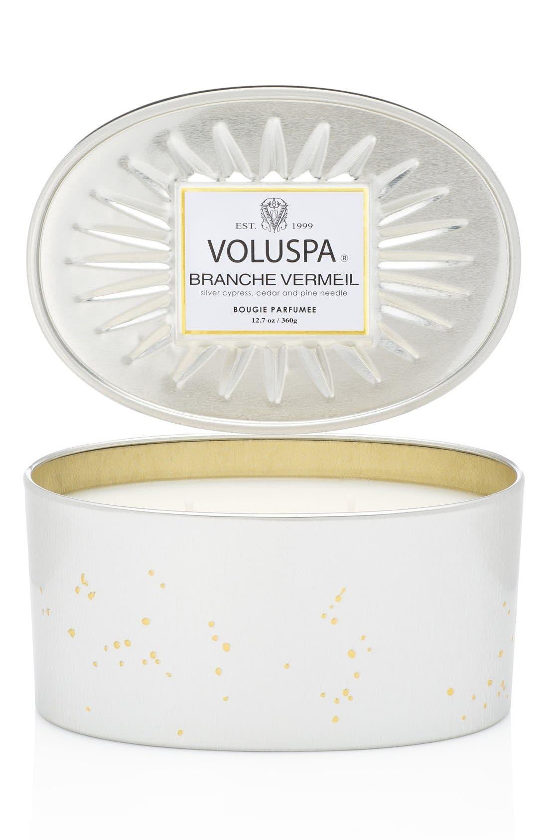 Voluspa 'Vermeil - Branche Vermeil' Two-Wick Candle