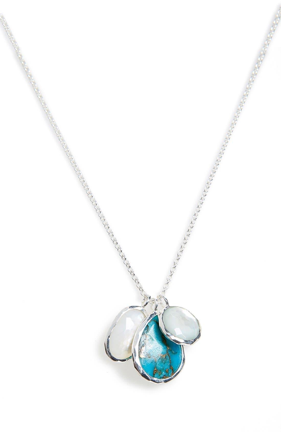 Alternate Image 1 Selected - Ippolita 'Wonderland' Triple Charm Necklace (Nordstrom Exclusive)