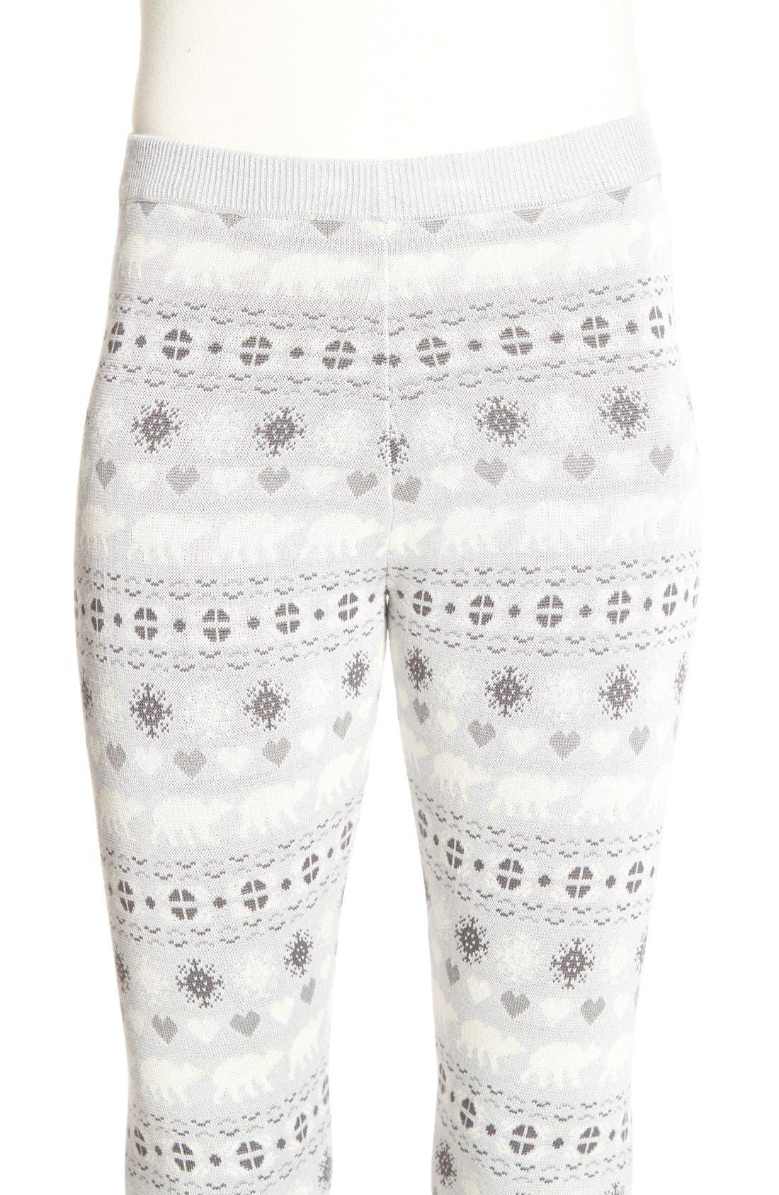 Alternate Image 4  - Love by Design Christmas Print Leggings