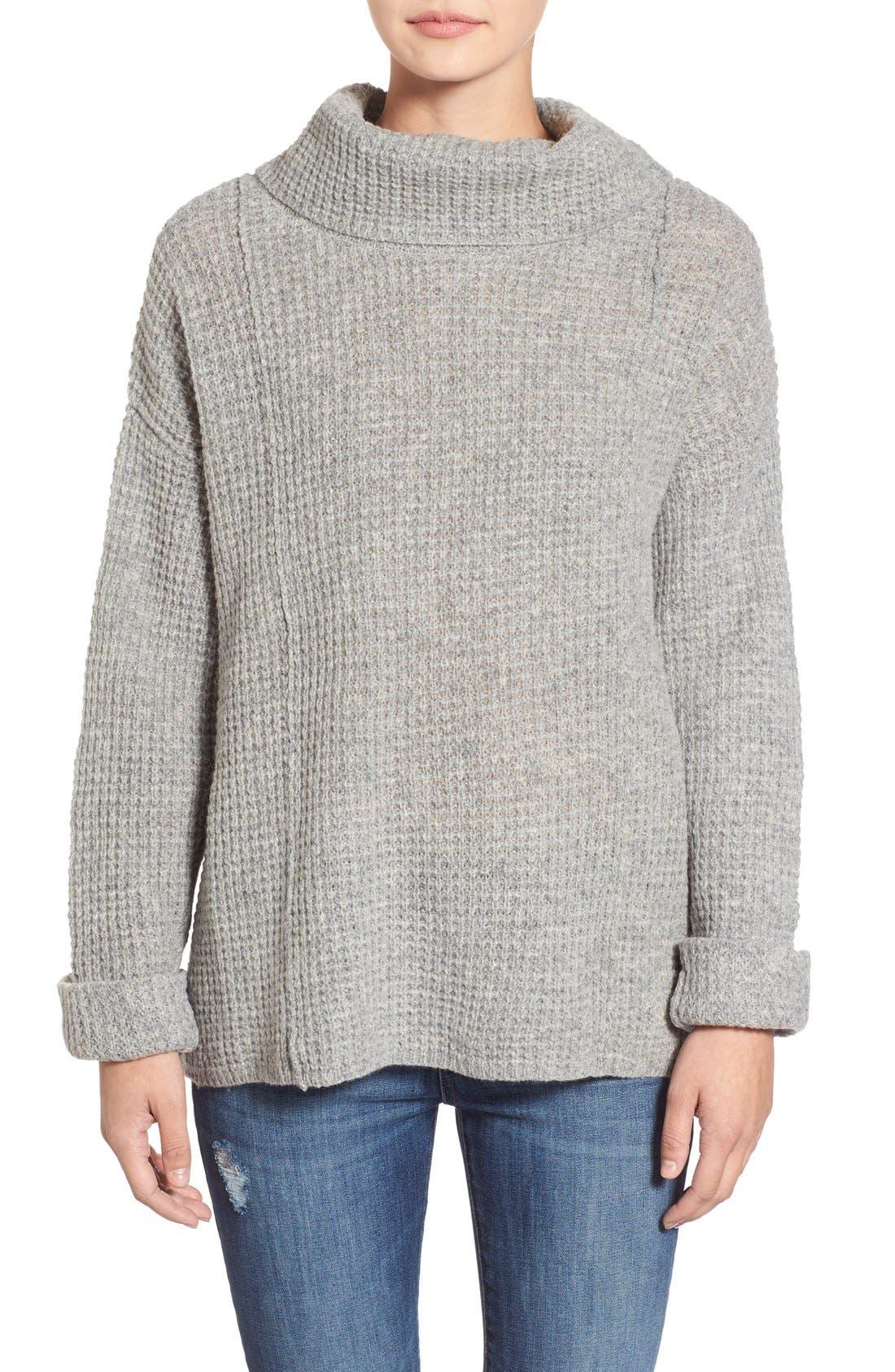 Alternate Image 1 Selected - Free People 'Sidewinder' Wool Pullover