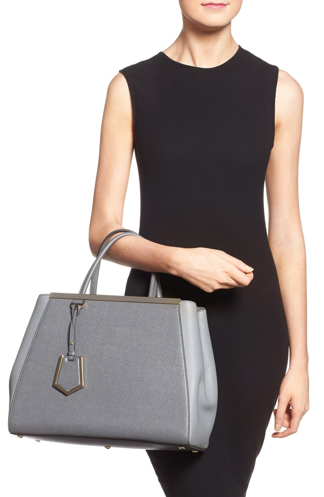 Alternate Image 2  - Fendi '2Jours Elite' Leather Shopper