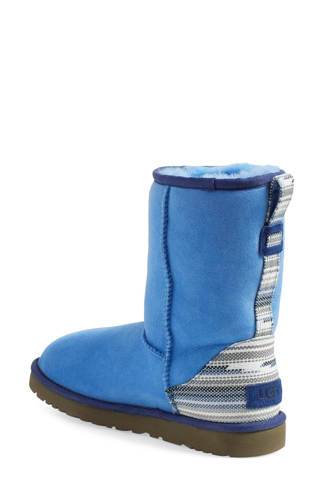 Alternate Image 2  - UGG® 'Classic Short - Serape' Water Resistant Boot (Women)