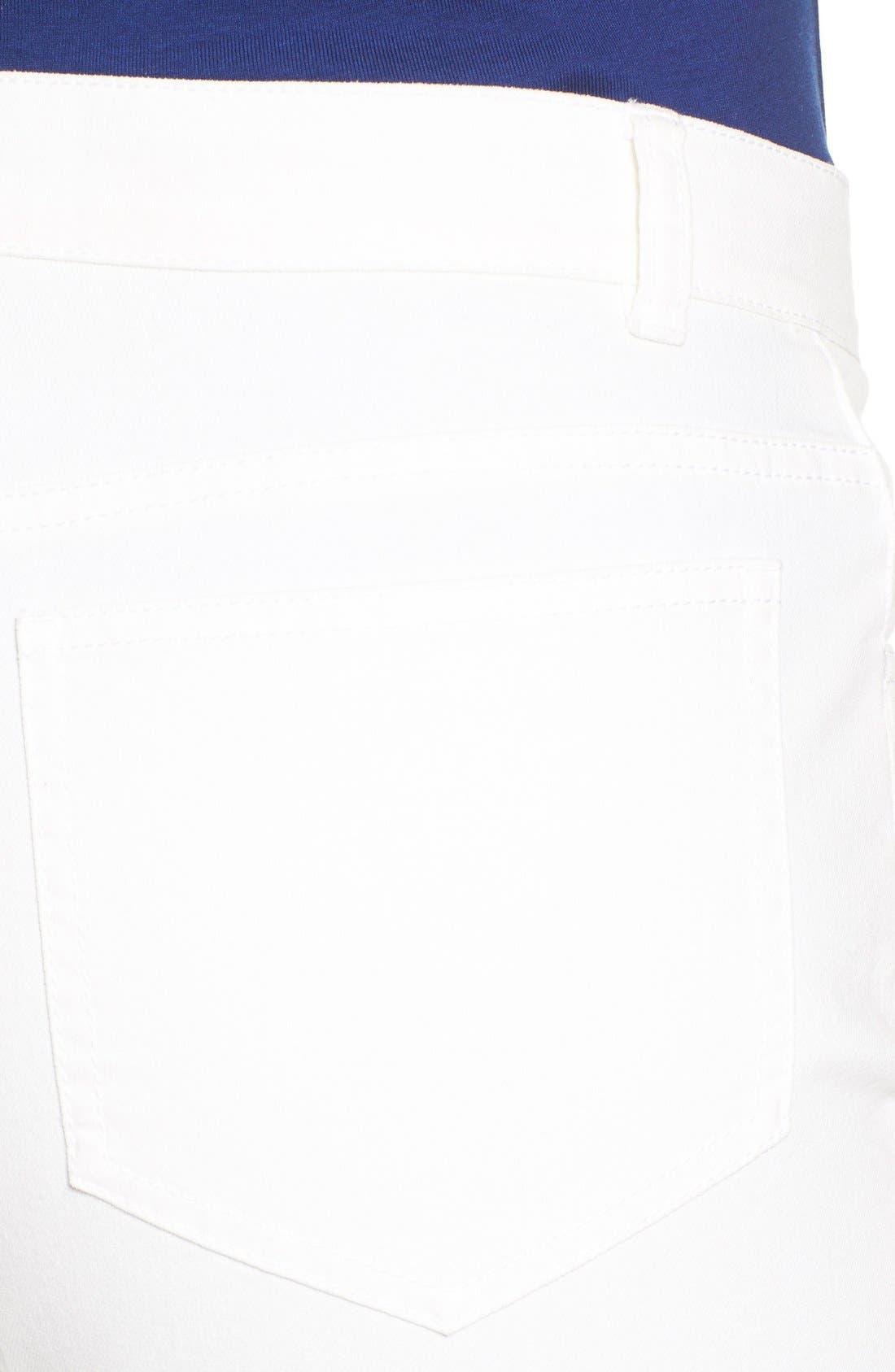 Alternate Image 7  - Lafayette 148 New York Curvy Fit Jeans