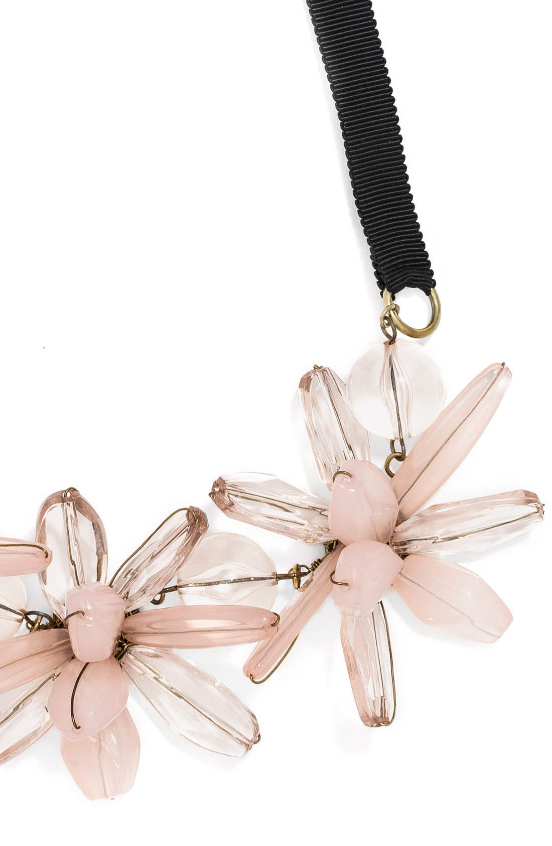 Alternate Image 3  - BaubleBar 'Plumeria' Collar Necklace
