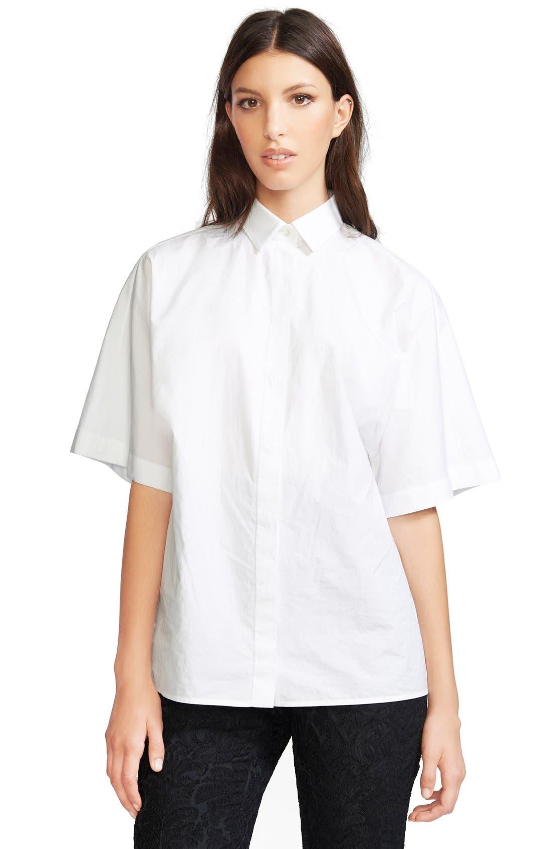 Alternate Image 1 Selected - Dolce&Gabbana Cotton Poplin Blouse