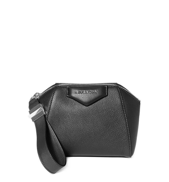 Main Image Givenchy Antigona Leather Zip Pouch