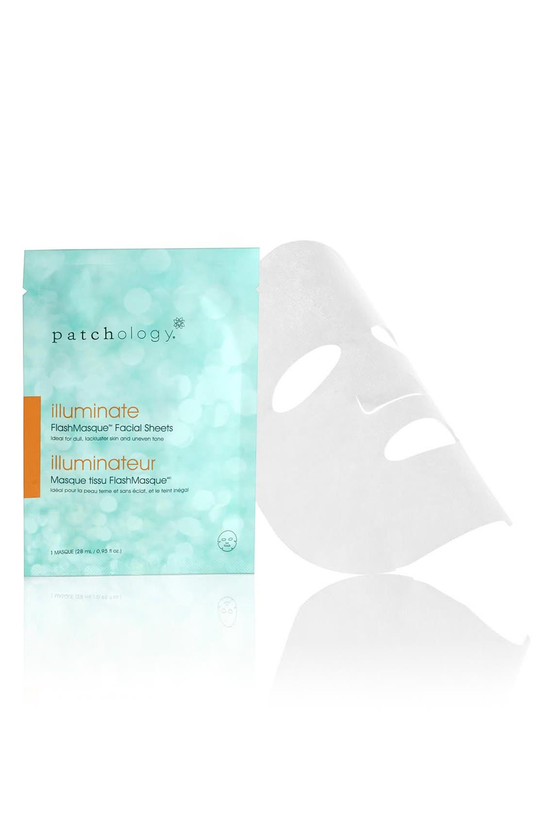 patchology Illuminate FlashMasque™ Facial Sheets