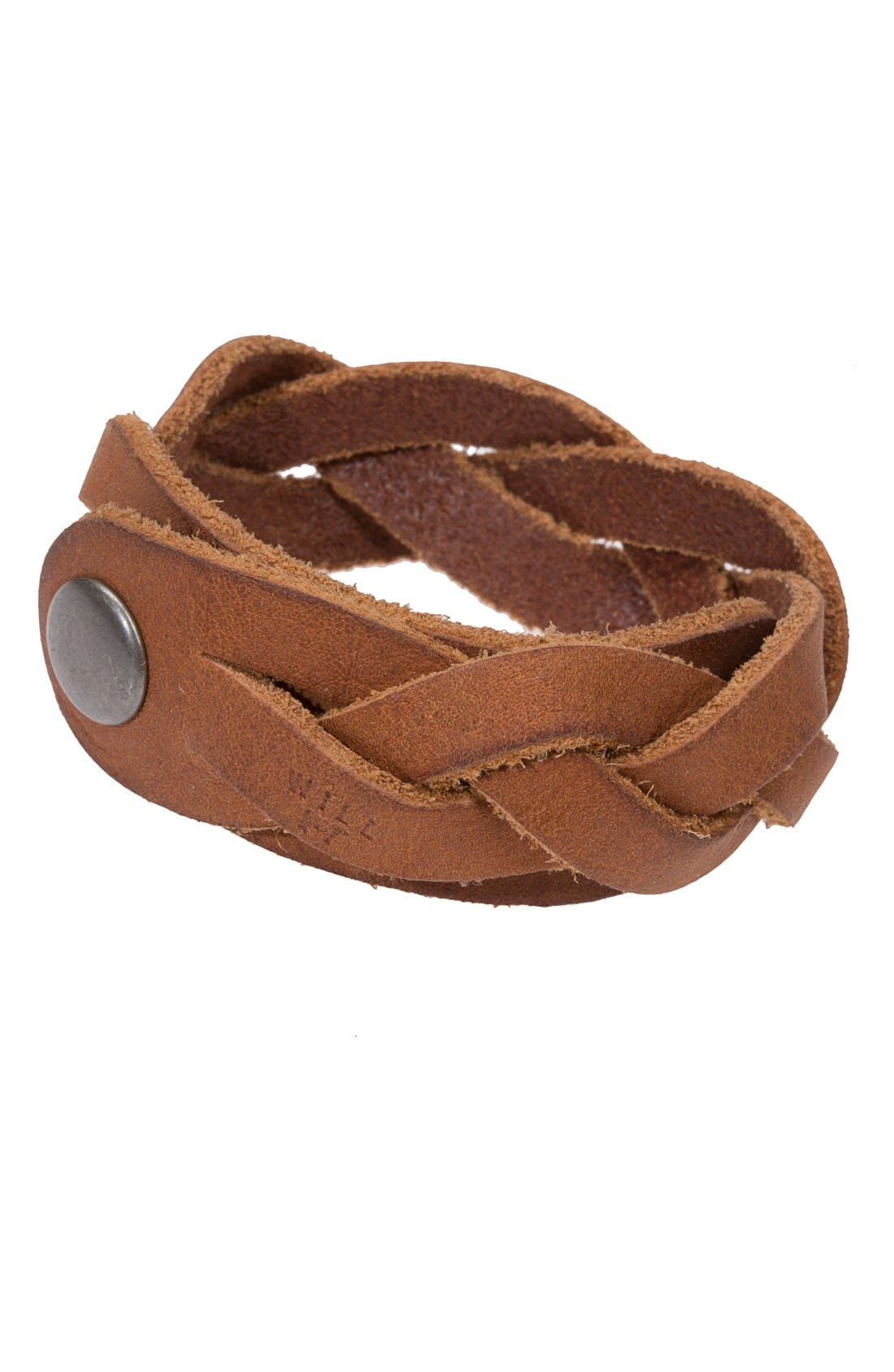 Alternate Image 1 Selected - Will Leather Goods 'District' Bracelet