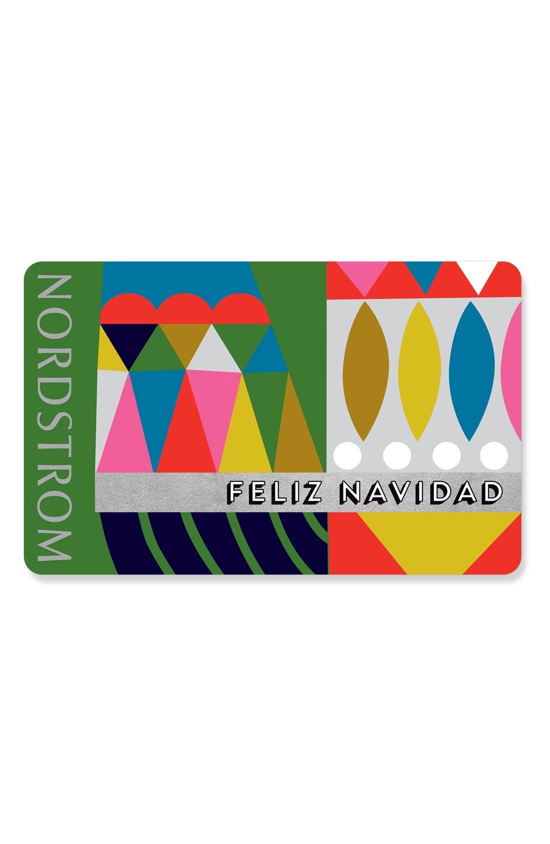 Nordstrom Feliz Navidad Gift Card