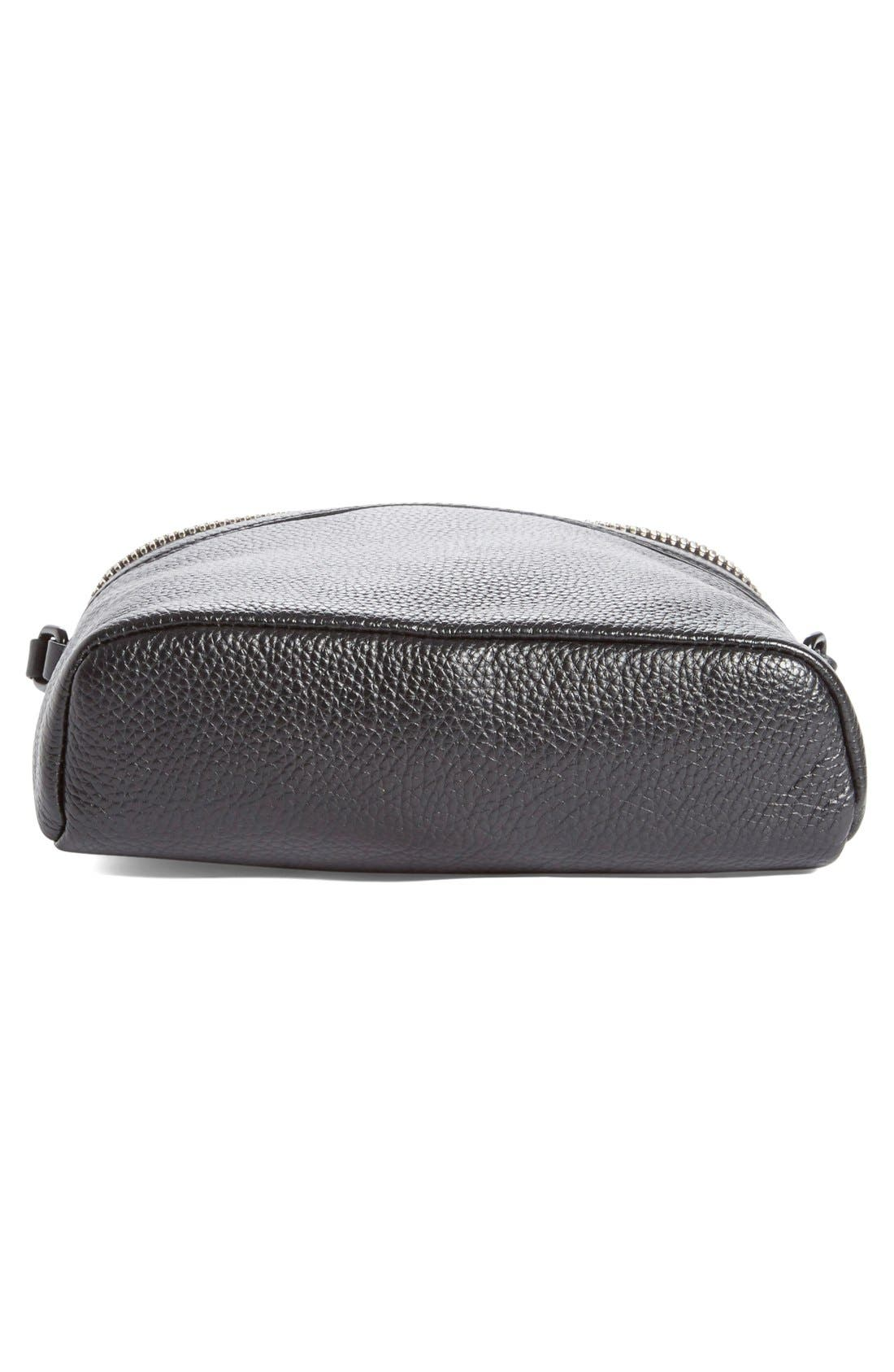 Alternate Image 6  - KARA Large Stowaway Leather Crossbody Bag
