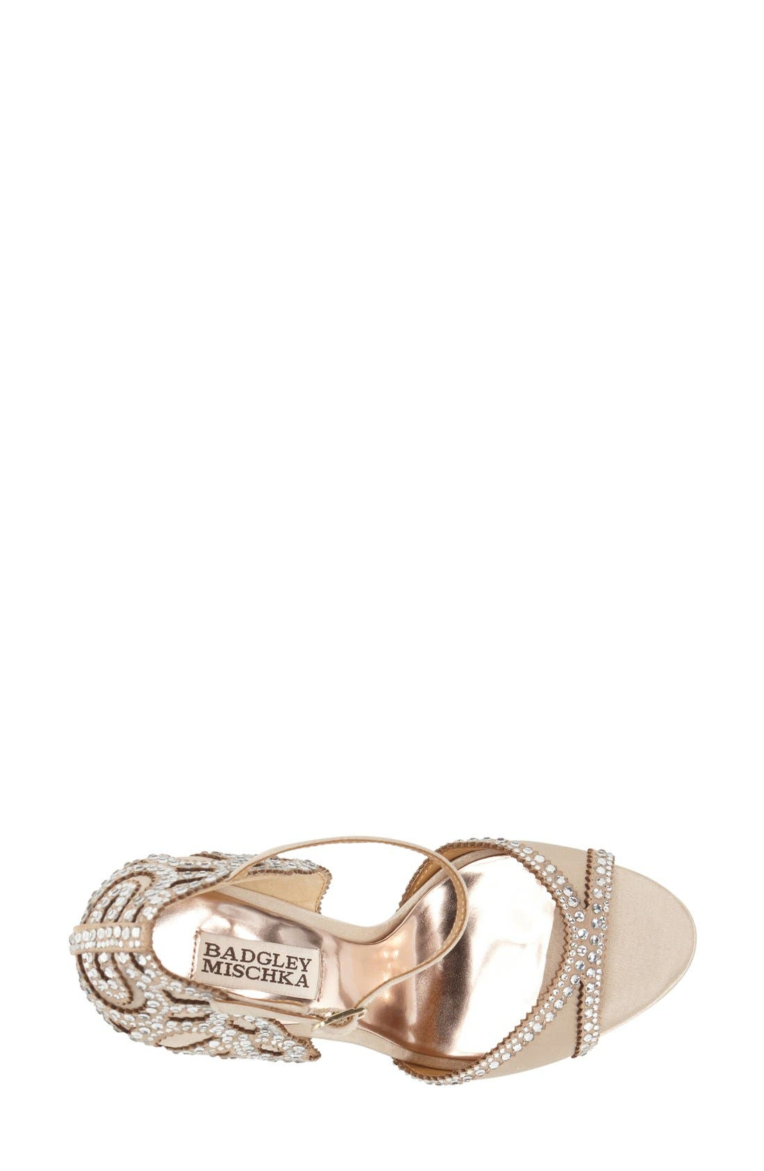 Alternate Image 3  - Badgley Mischka 'Roxy' Sandal (Women)