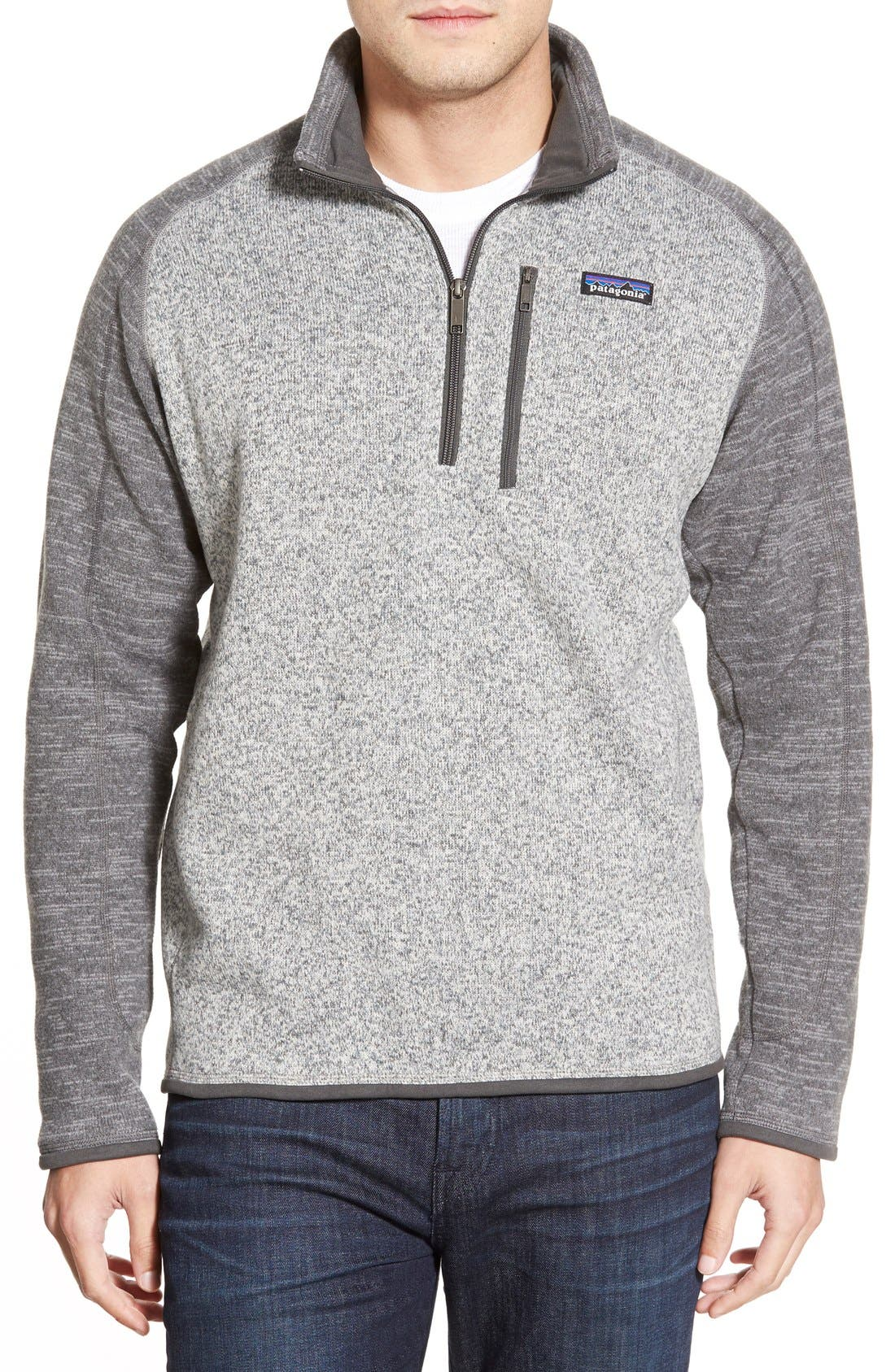 Main Image - Patagonia 'Better Sweater' Quarter Zip Pullover