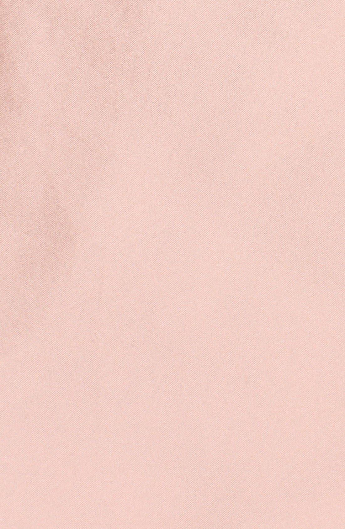 Floor Length Taffeta Mermaid Skirt,                             Alternate thumbnail 6, color,                             Blush