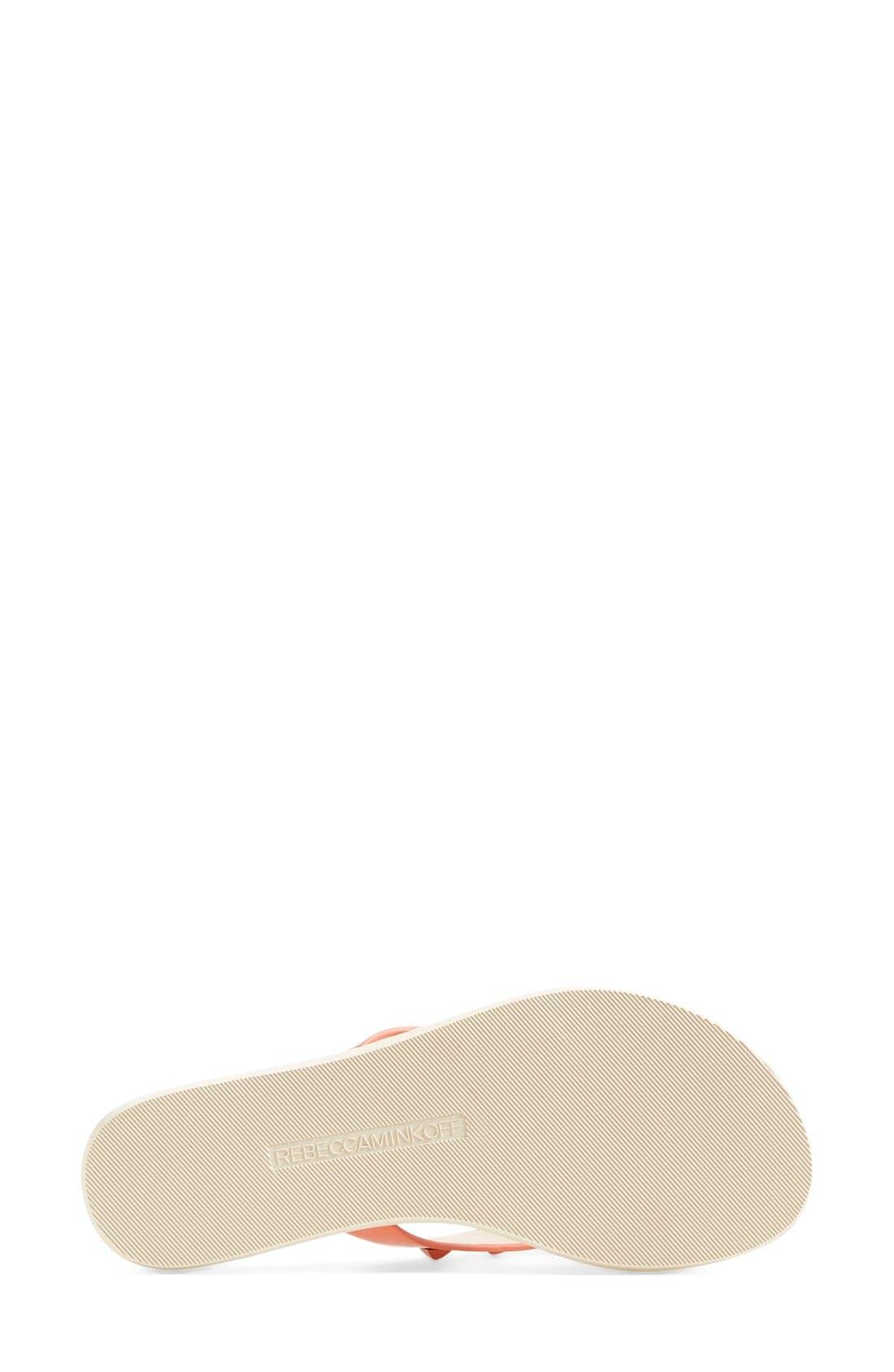 Alternate Image 4  - Rebecca Minkoff 'Fiona' Thong Sandal (Women)