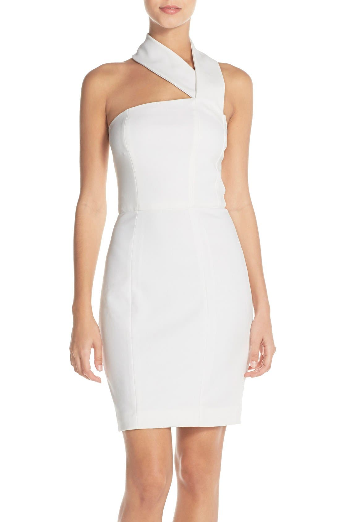 Misha Collection 'Dharma' Halter Jersey Body-Con Dress