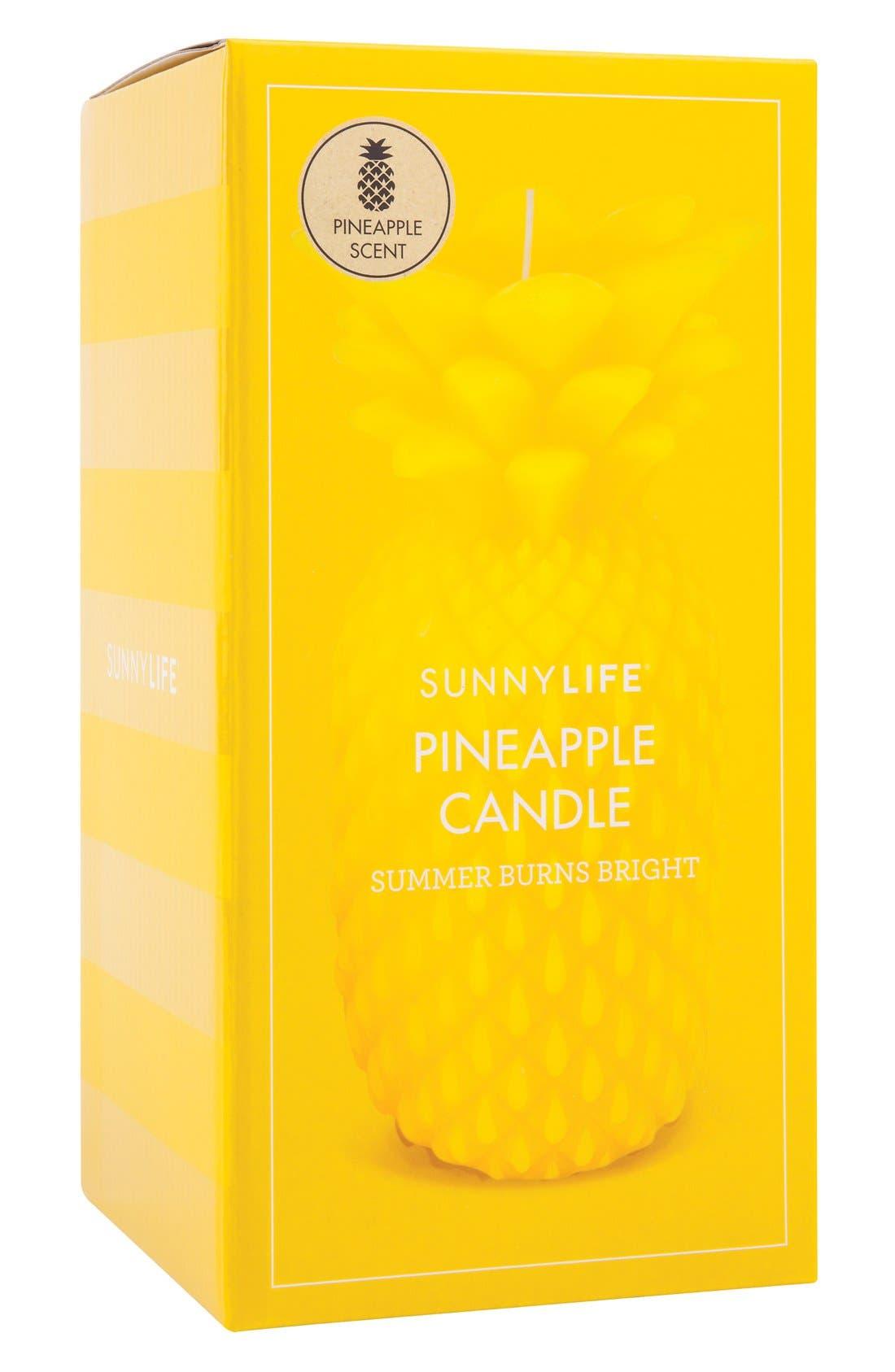 Alternate Image 3  - Sunnylife Pineapple Candle